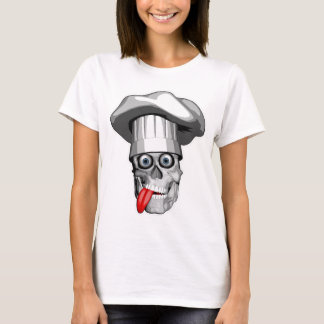 Crazy Chef Skull T-Shirt