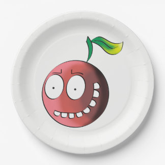 Crazy Cherry Paper Plate