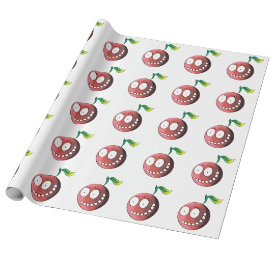 Crazy Cherry Wrapping Paper
