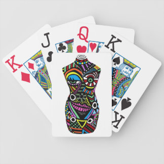 Crazy Chick Playing Cards
