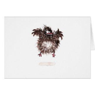 Crazy chicken card