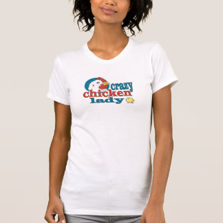 Crazy Chicken Lady Hen and Baby Chick T-Shirt