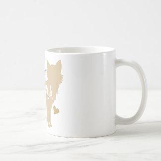 crazy chihuahua lady coffee mug