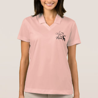Crazy Chinese Crested Dog Mom Polo Shirt