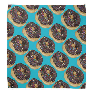 Crazy Chocolate Doughnuts with sprinkles bandana