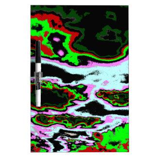 Crazy Clouds Dry Erase Board