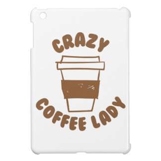 crazy coffee lady cover for the iPad mini