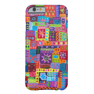 Crazy Color Pattern Barely There iPhone 6 Case
