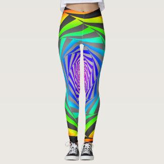 crazy colored leggings