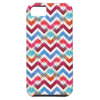 Crazy Colorful Chevron Stripes Zig Zag iPhone Case iPhone 5 Cases