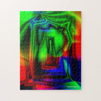 Crazy Colorful Jigsaw Puzzle