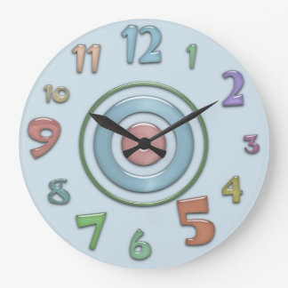 Crazy Colorful Wall Clock