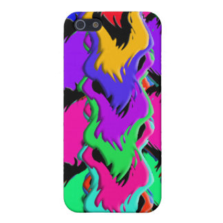 Crazy colors Iphone case iPhone 5/5S Cases