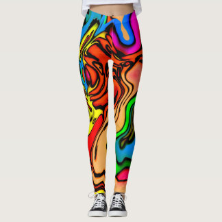 Crazy Colors Leggings