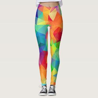 Crazy Colors Polygon Leggings