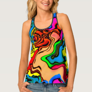 Crazy Colors Tank Top
