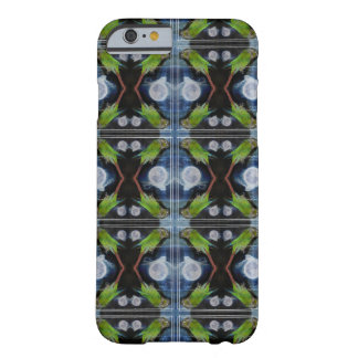 Crazy conures under the full moon barely there iPhone 6 case