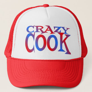 Crazy Cook Trucker Hat