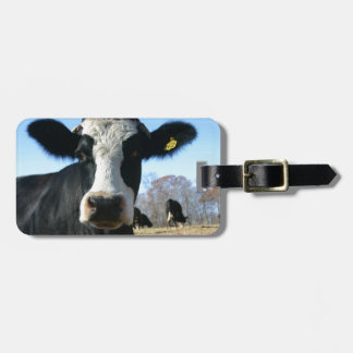 Crazy Cow Luggage Tag