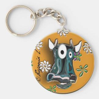 Crazy Cow Mazy Keychain