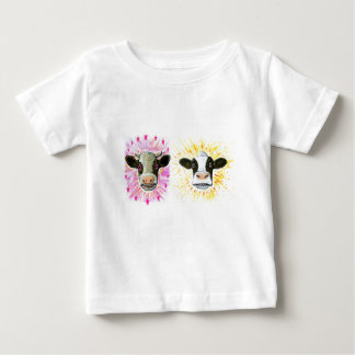 Crazy Cows Baby T-Shirt