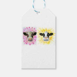 Crazy Cows Gift Tags