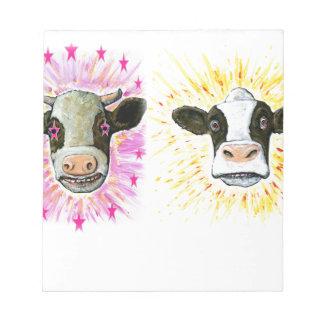 Crazy Cows Notepad