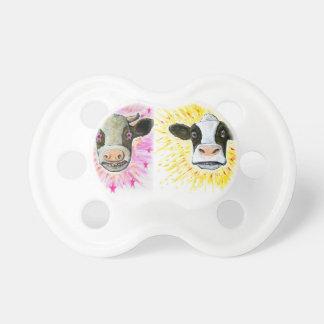 Crazy Cows Pacifier
