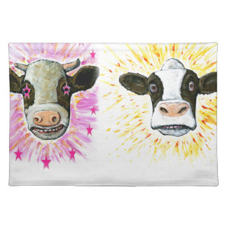 Crazy Cows Placemat