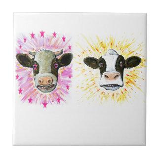 Crazy Cows Tile