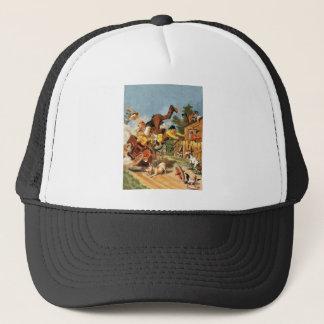 Crazy Crash Trucker Hat