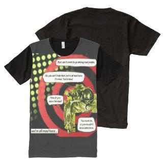 Crazy, Crazy, Crazy All-Over-Print T-Shirt