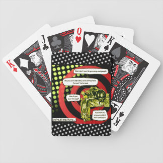 Crazy, Crazy, Crazy by Aleta Bicycle Playing Cards