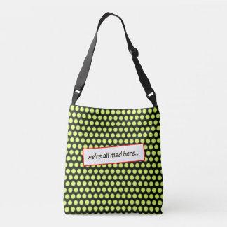Crazy, Crazy, Crazy by Aleta Crossbody Bag