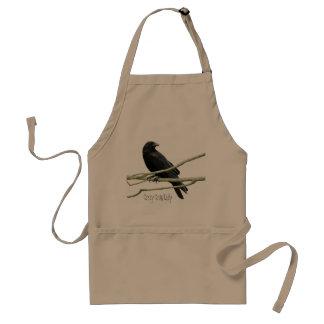 Crazy Crow Lady Apron