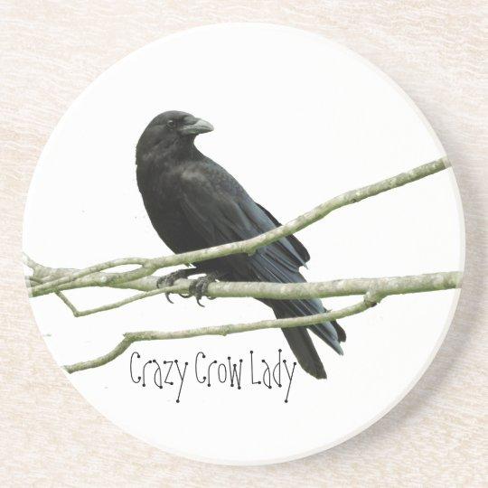 Crazy Crow Lady Coaster