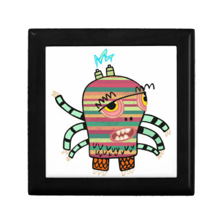 Crazy Cute Six-Armed Panic Monster Gift Box