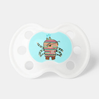 Crazy Cute Six-Armed Panic Monster Pacifier