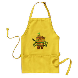 Crazy Cute Six-Armed Panic Monster Standard Apron