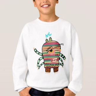 Crazy Cute Six-Armed Panic Monster Sweatshirt