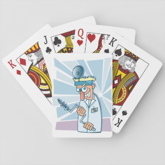Crazy Dentist Playing Cards