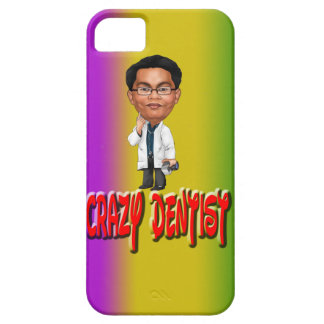 Crazy Dentist With Background iPhone 5 Cases