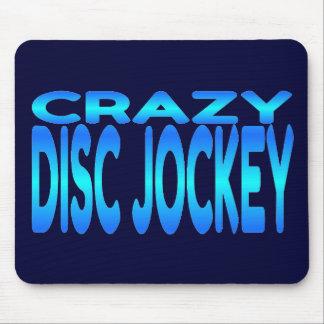 Crazy Disc Jockey Mouse Pad