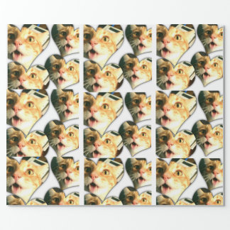 Crazy Disco The Cat Funny Cat Wrapping Paper