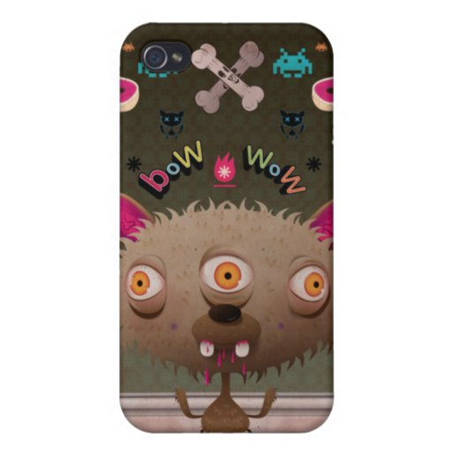 Crazy Dog Cases For iPhone 4
