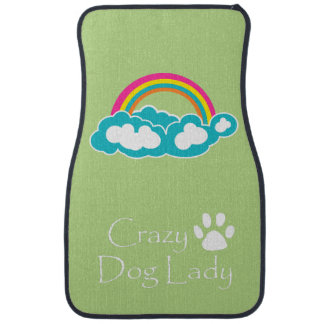 Crazy Dog Lady Car Mat
