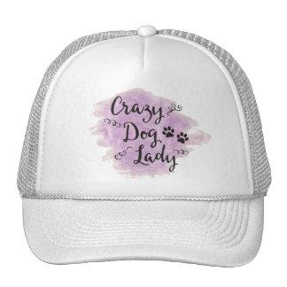 Crazy Dog Lady (Purple) Trucker Hat