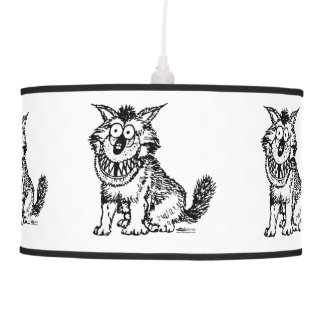 Crazy Dog Pendant Lamp