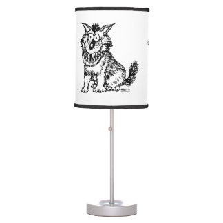 Crazy Dog Table Lamp