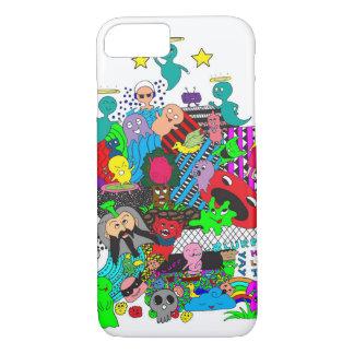 CRAZY DOODLE iPhone 7 CASE